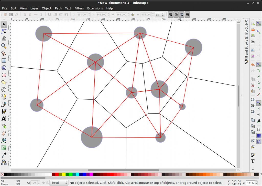 plywood cutting diagram generator inkscape 0.49's voronoi generator [lwn.net] #3