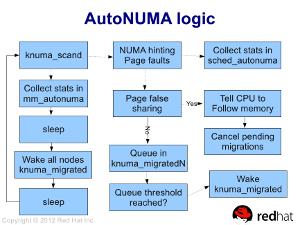 [AutoNUMA workflow]