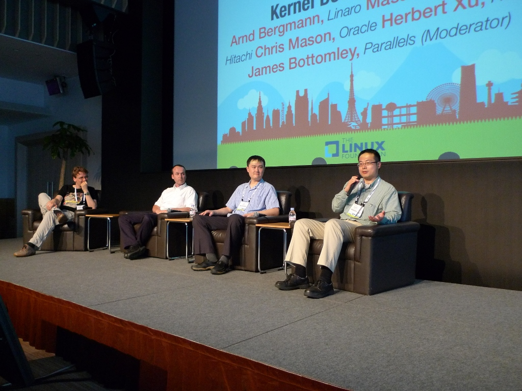 Kernel panel at LinuxCon Japan 2012 [LWN net]
