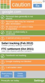 [Privacyfix Google healthbar]