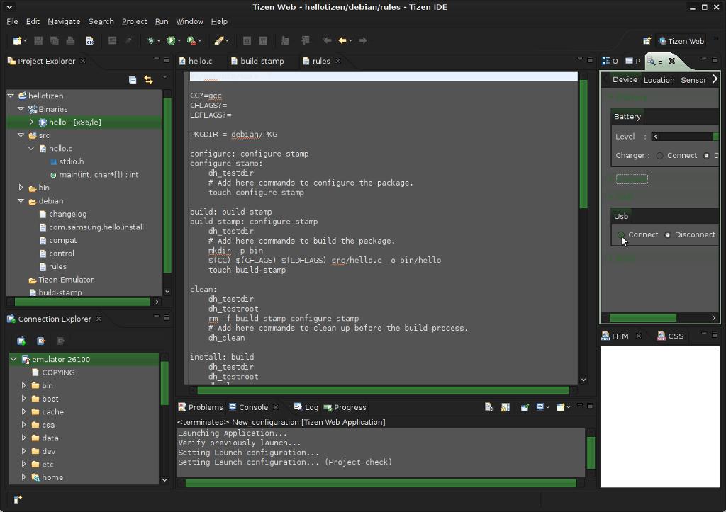 Tizen IDE [L... Python Articles
