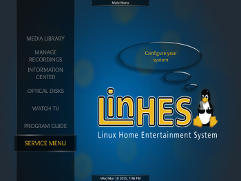 Making MythTV manageable with LinHES 8 3 [LWN net]