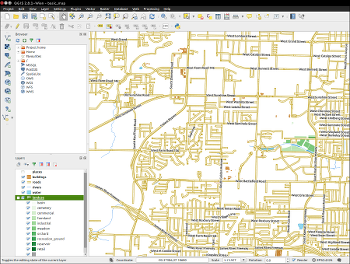 Mapping and data mining with QGIS 2 8 [LWN net]
