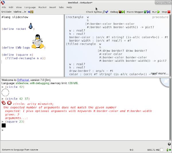Racket: Lisp for learning