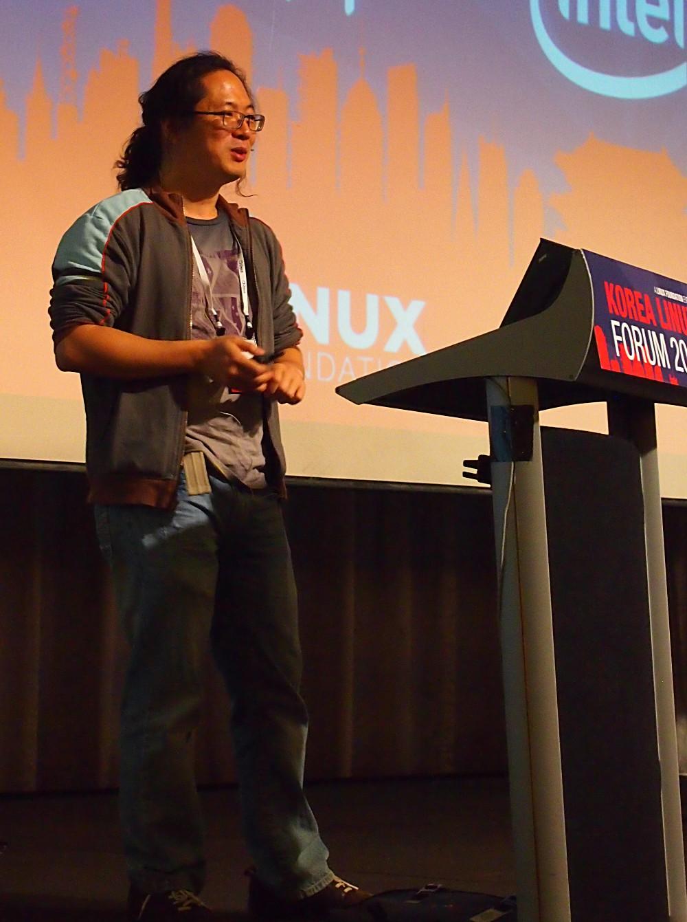 Tejun Heo at the 2012 Korean Linux Forum [LWN.net]