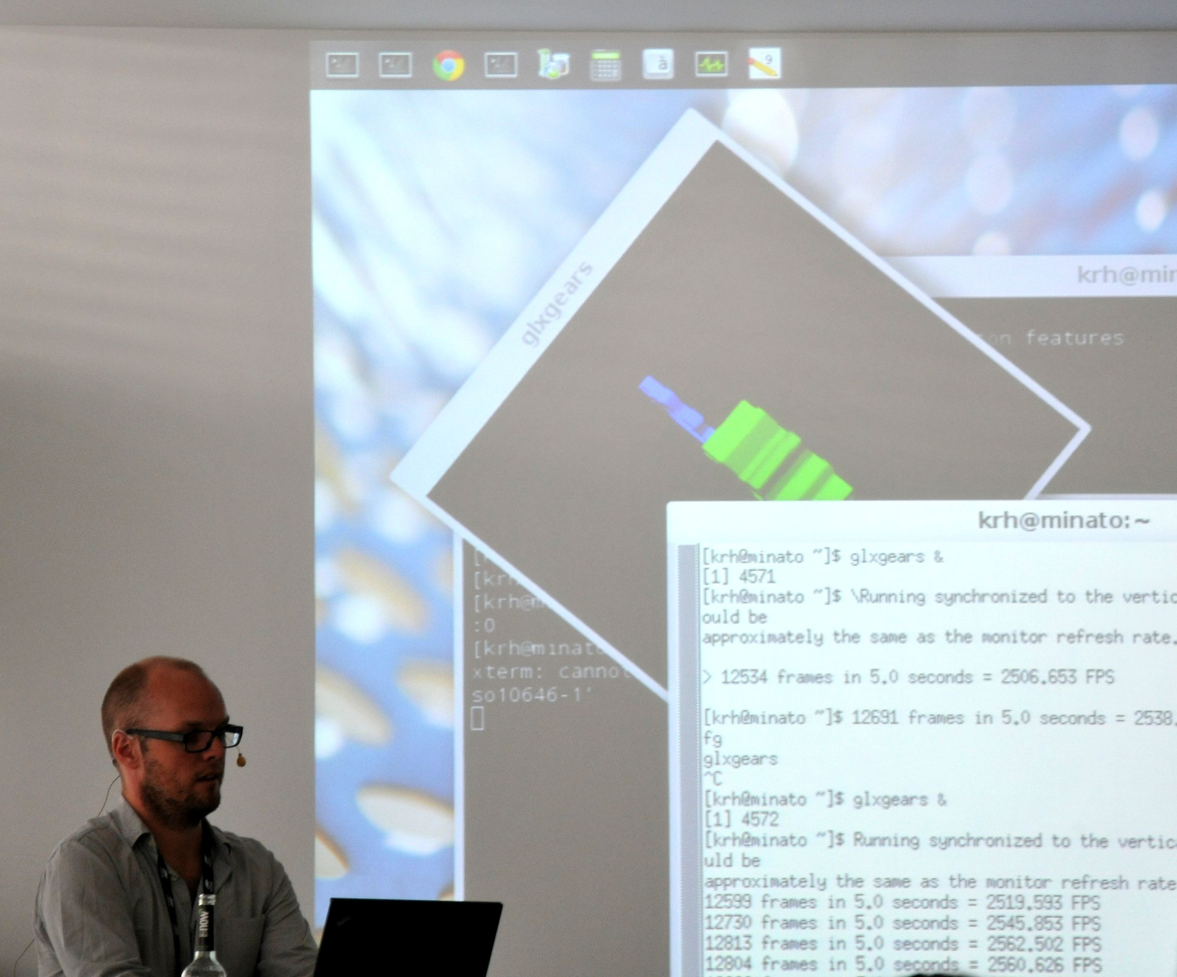 [Kristian Høgsberg bending the laws of desktop graphics at XDC2012]