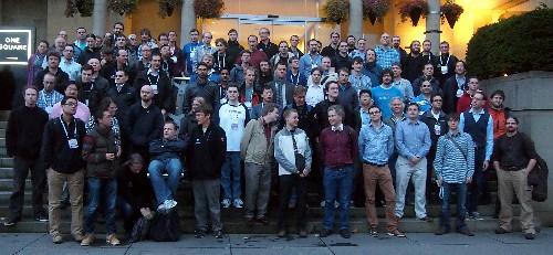 [Plenary day group photo]