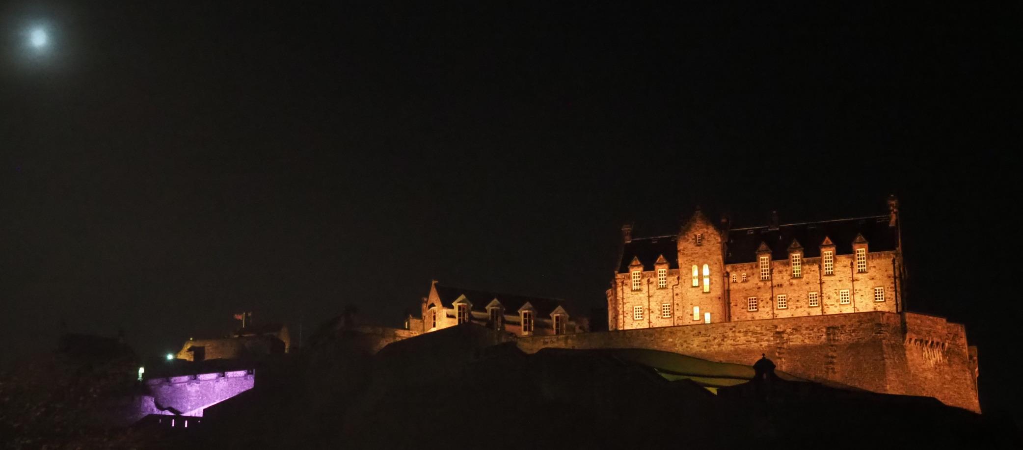 Edinburgh Castle At Night Lwn Net
