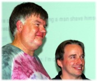 [Bdale Garbee and Linus Torvalds]