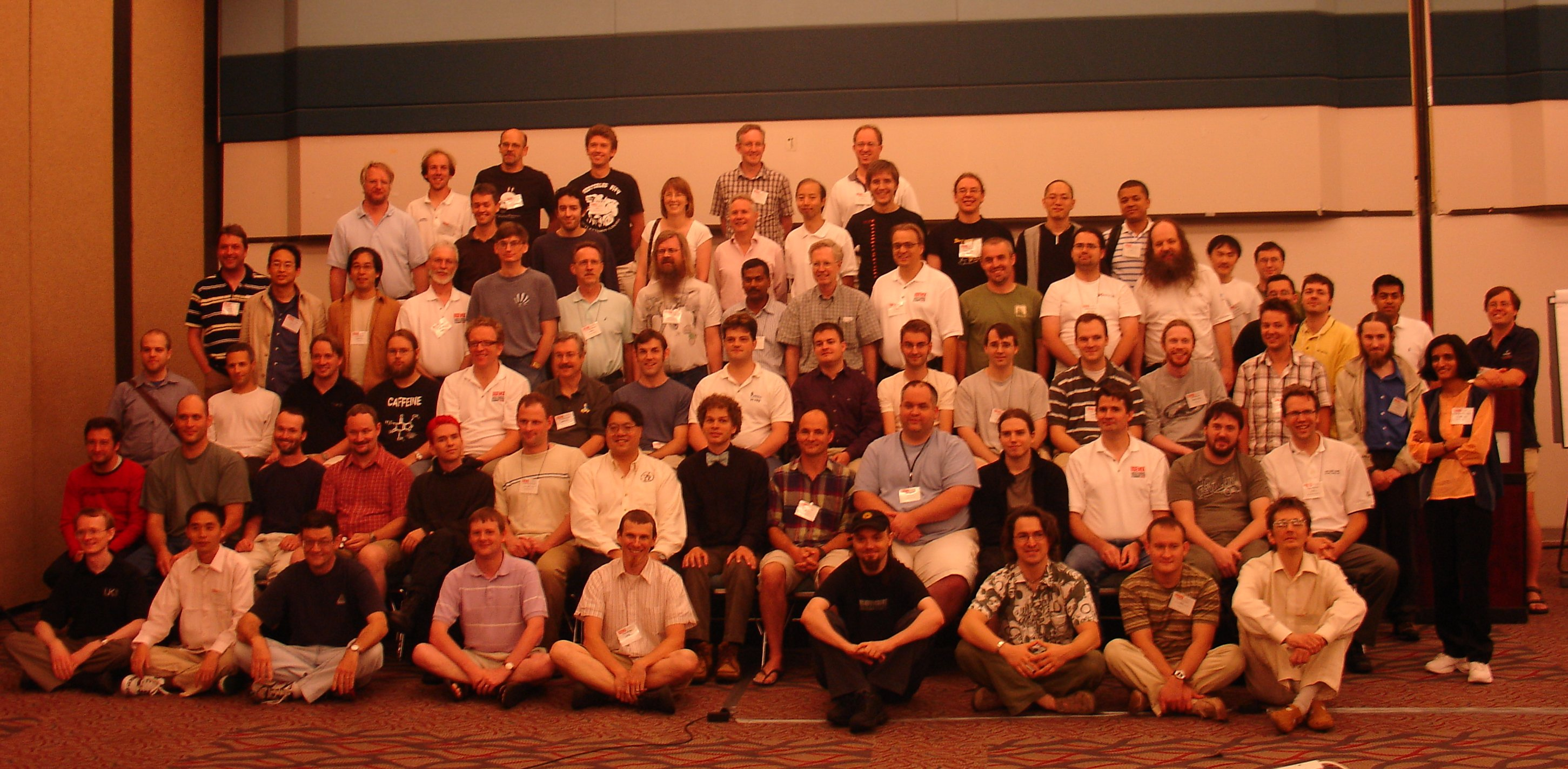 Kernel Summit 2006 group