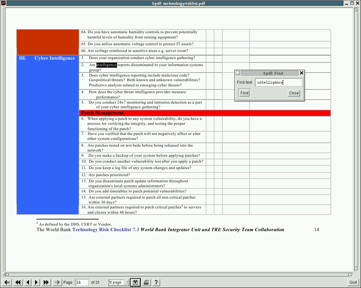 xpdf screenshot